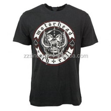 Mens Motor head Biker T-Shirt Rock design tshirt