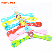 2018 hemu colorful expandable durable plastic strong cat puppy clothing dog clothes hanger