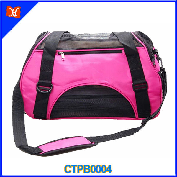 High Quality Excellent Expansibility Outdoor Travel Portable Cute Dog Carrier Bag