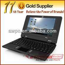 7inch VIA WM8650 Android 4.0 dual USB UMPC Netbook laptop computer