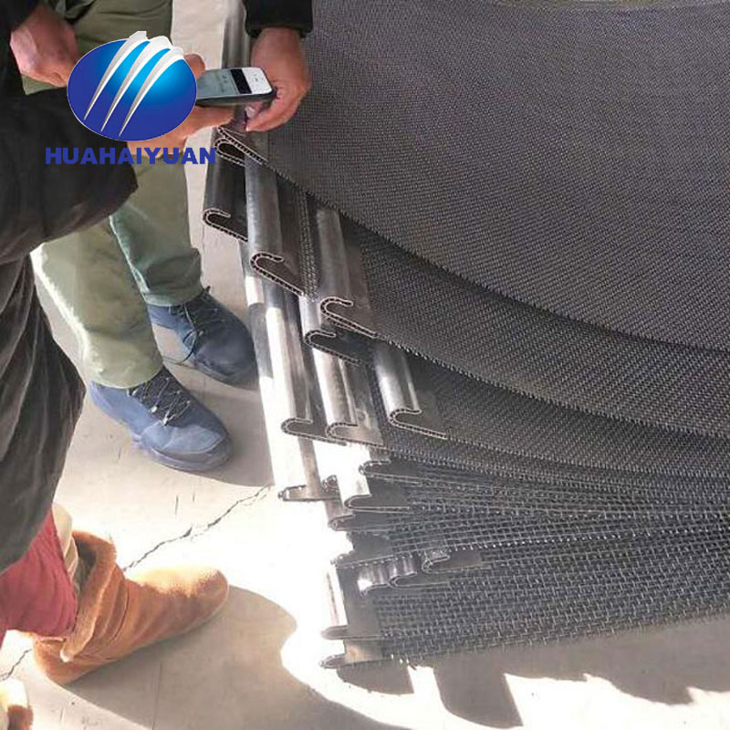 High quality Quarry screen mesh export to Saudi Arabia vibrating mesh screen crusher mesh