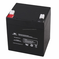 2017 high quality maintenance free motorcycle sealed lead acid battery 12v 4ah