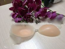 silicone backless adhesive silicone triple gel filled bra