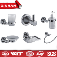 New Bathroom Accessory Set Metal Bathroom