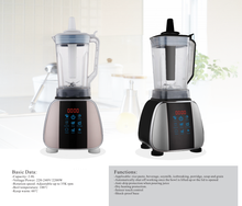 2L high speed less noise Digital display Control Commercial blender