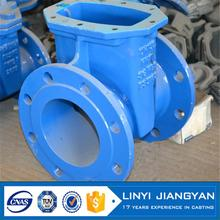 Multifunctional pvc double union ball valve chain wheel gate valve with CE certificate