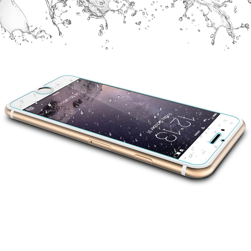 Premium Vacumm Electroplating Glass Screen Protector for iPhone 6 Tempered Glass Protective Film