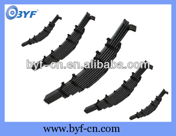 BYF truck axle suspension leaf spring on sale