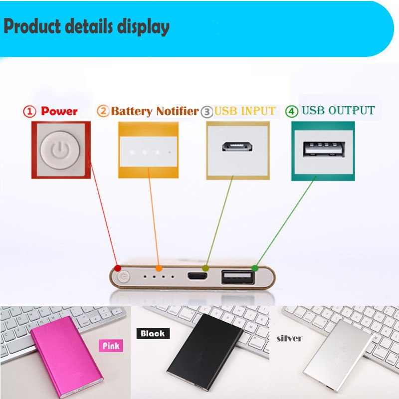 <strong>Trade</strong> Assured Supplier Portable Mobile USB Power Bank 4000mAh