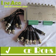 Linkacc-22e 8 Channels Passive UTP Video Transmitter for Surveillance Cameras TP-2044TR-8