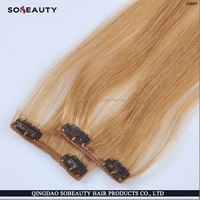 ZZH Wholesale Alibaba Remy Virgin Hair 100% Remy blonde 30 inch hair extensions clip in
