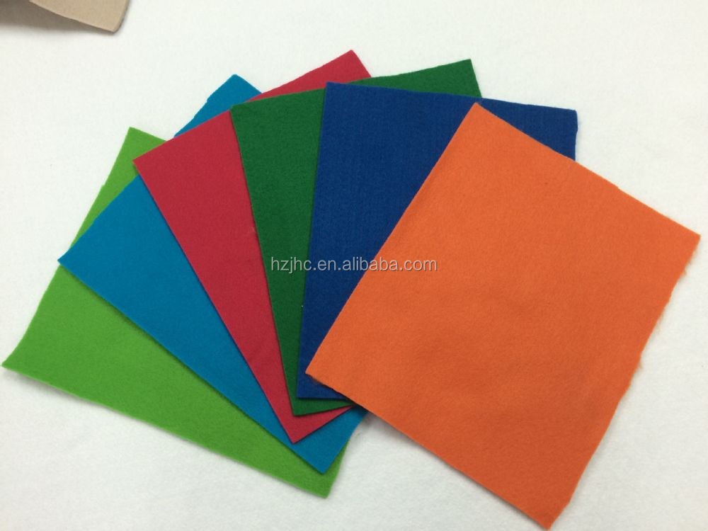 wholesale thick black felt material