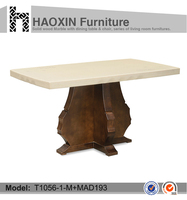 cheap wooden dining tables for sale dining room furniture T1056-1+MAD193