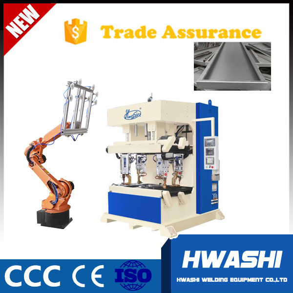 Sheet Metal 4Corner Spot Welding Machine, Robot Material Handling Machine