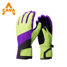 Winter mountain made waterproof Insulated thinsulate snow shovel ski Gloves for Men and Women