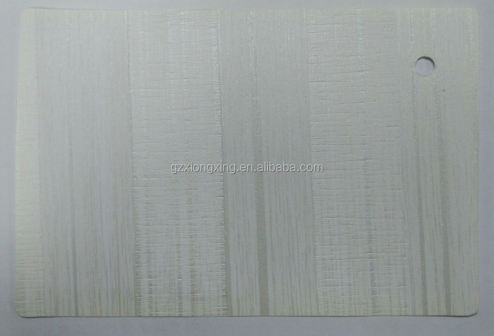 Matt Wood Grain PVC Sheet For Pressing Machine