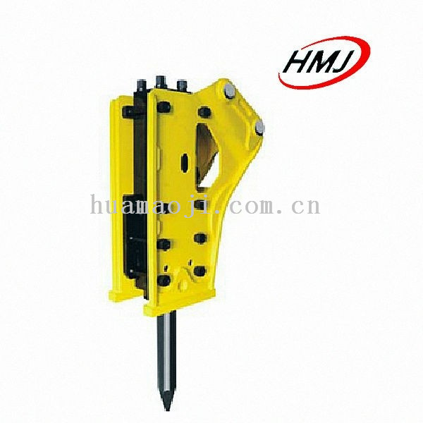 High Frequency Hydraulic breaker excavator mounted vibro hammer