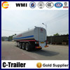 Chinese fuel oil delivery tank trailer, oil tanker semi trailer