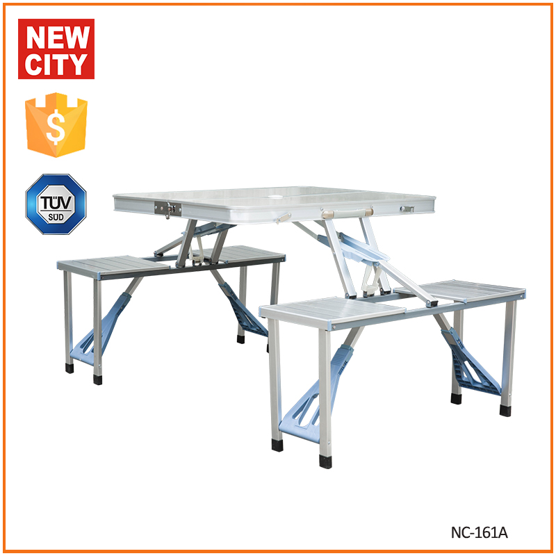 outdoor and indoor aluminum alloy material folding table base