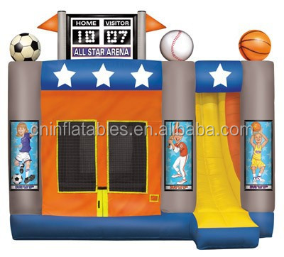 Best quality Inflatable Balls Shooting Bouncer House Combo