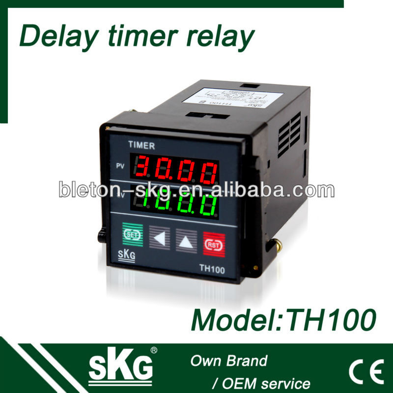 time relay TH100 off delay timer
