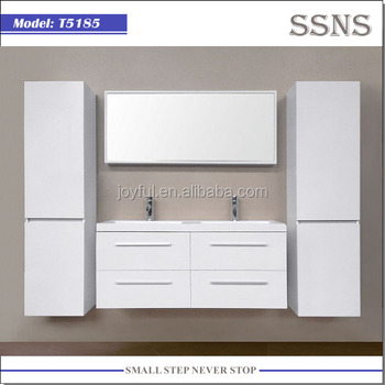 White hanging bathroom furniture T5185