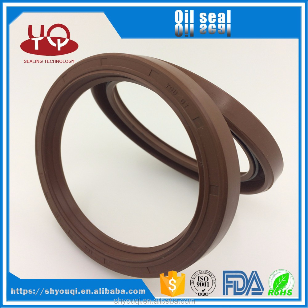 Low friction coefficient rubber skeleton national oil seal size chart