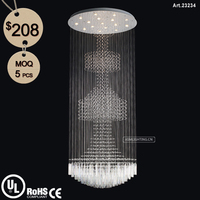 Modern Crystal Ball Chandelier Light for Home/Hotel/Hall