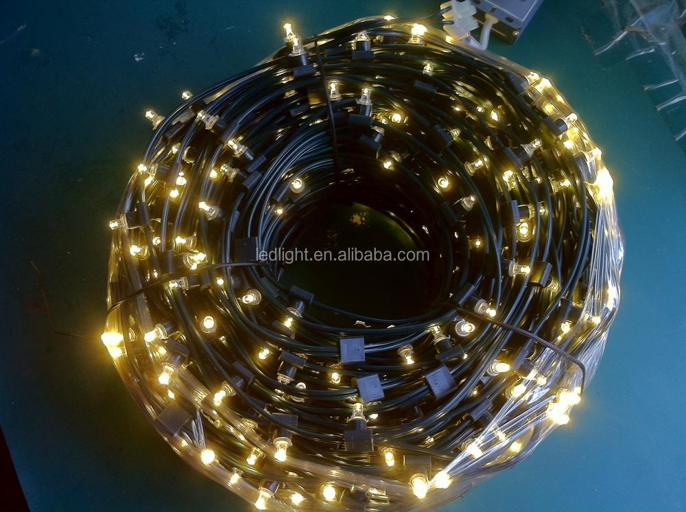 kaxled led christmas cluster light dc12v voltage 100m green led clip light