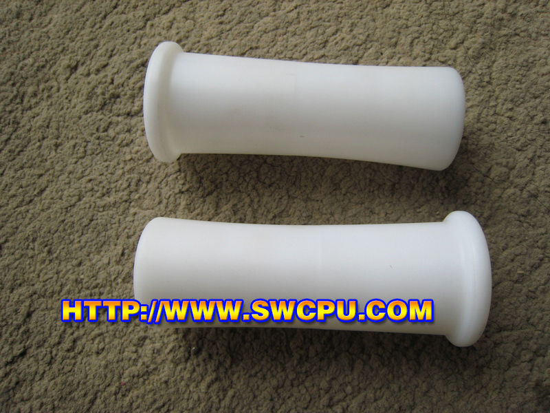 white plastic free POM tube sleeve for steel tube