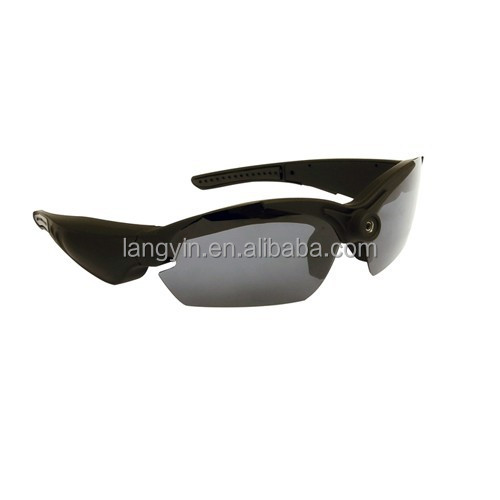 HD 1080p outdoor Sports Sunglasses camera for Sports driving, hunting