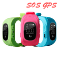 hot selling waterproof SIM card slot SOS gps tracker smart watch Q50 for kids