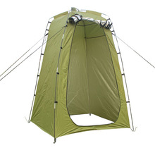 Folding Outdoor Camping Toilet Room Privacy Showing Changing Clothes Tent Awning Lightweight Portable Camping Shower Tent
