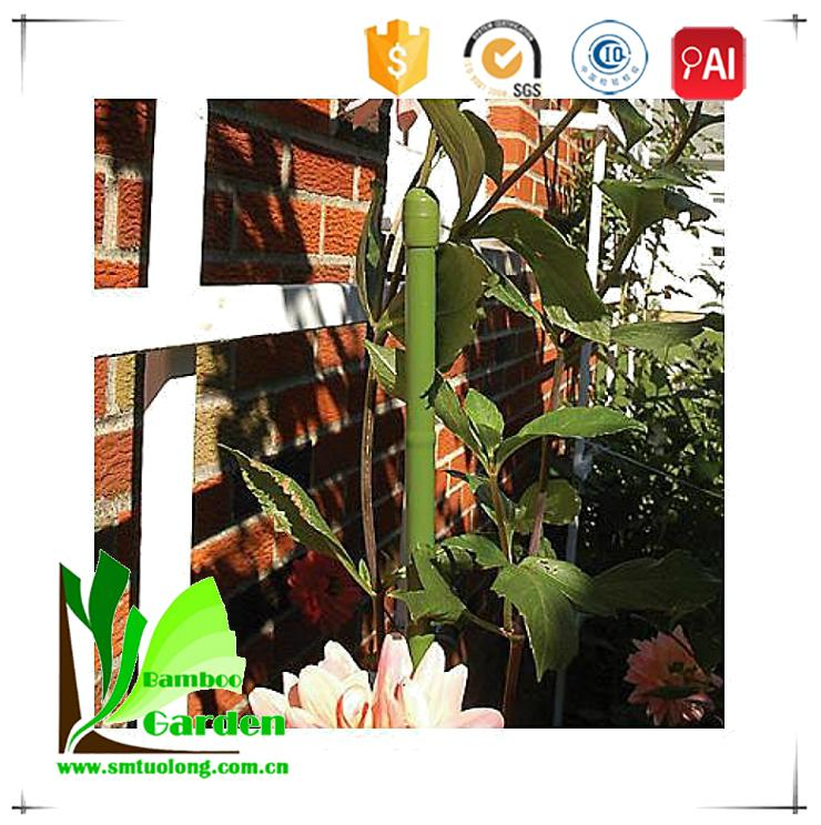 Plastic Coated Bamboo Garden Decorative Plant Stake