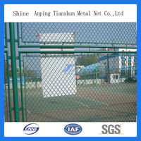 hot sale chain link wire mesh basketball fence netting/baseball field fence