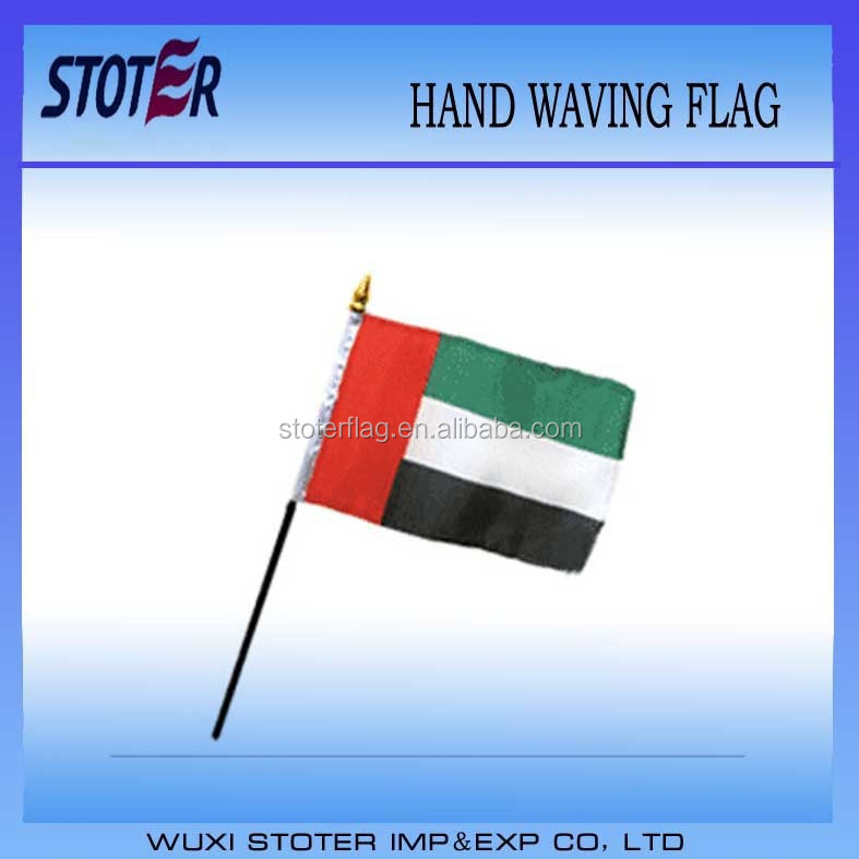 United Arab Emirates 30*45cm hand waving flag