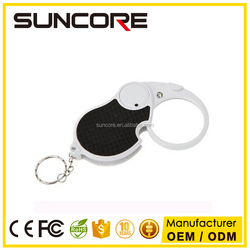 Suncore NO.6901 LED Illuminated Folding Portable Magnifier with Key Chain