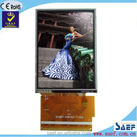 "2.8""inch QVGA 240x320 dots 37pin small size lcd with touch panel"
