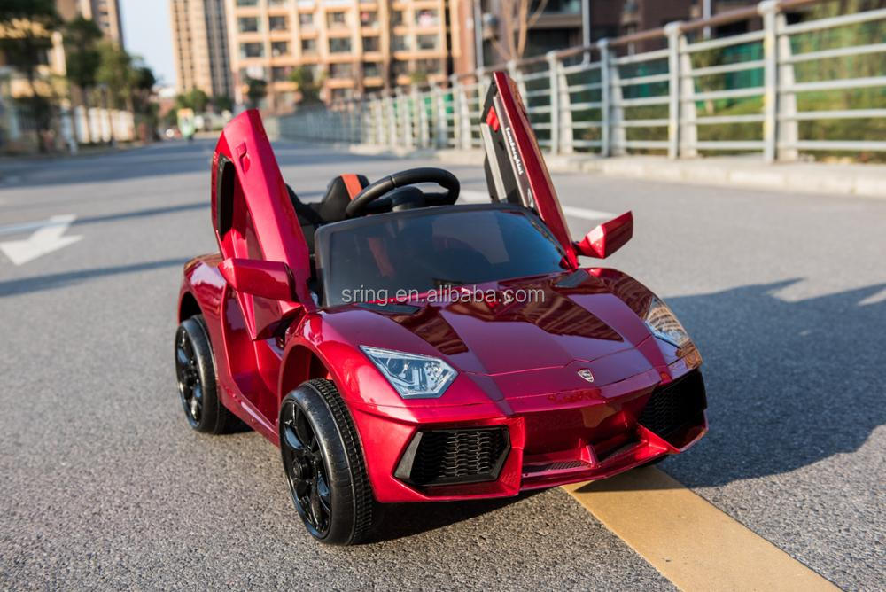 12V ride on toy car child electric car with rc