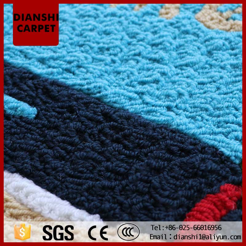 Wholesale Washable Floral Pattern Wall To Wall Carpet