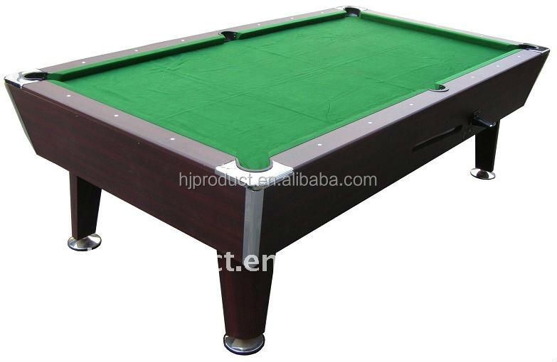 Manual coin operated custom billiard table,cheap coin operated pool tables on sale