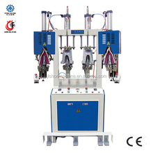 LM-355 Back Part Heel Setting machine with two cooler and two heater shoe making machine