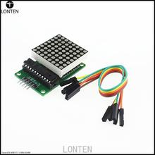 Fast Shipping 10Pcs/lot MAX7219 Dot Led Matrix Module MCU LED Display Control Module Kit For aduino
