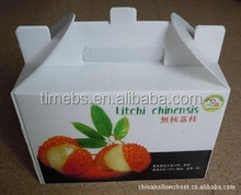 2014 New Printed Plastic Corrugared Fresh Fruit Box Packaging