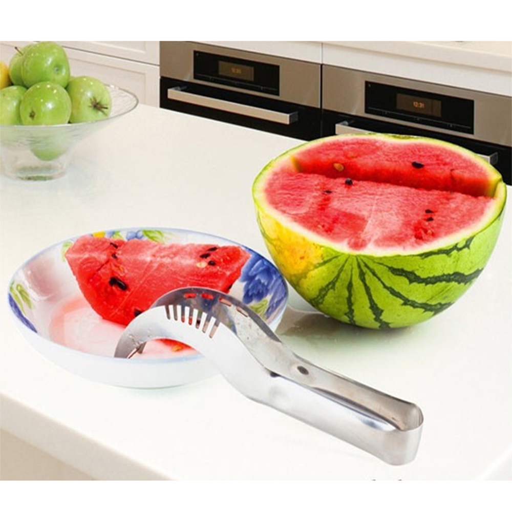 WB ZH3042 Kitchenwares Fruit Vegetable Watermelon Slicer Melon Cutter Stainless Steel Stainless Steel Kitchen Cutter Tool