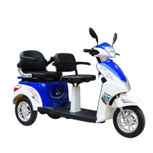 China made hot sale 2 seat disabled tricycle T-409