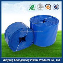 6 inch Large Diameter Anti Abrasion 150mm Irrigation PVC High Pressure Lay Flat Hose