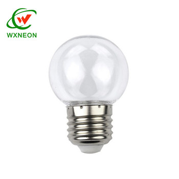 New Colorful Home Decorating E27 Base G45 Ceramic Smooth Led Bulb