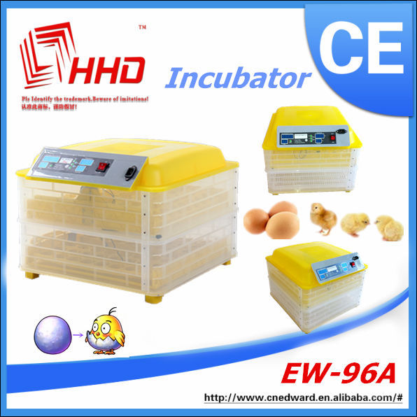 HHD EW-96 100W Voltage Optional Automatic Poultry Incubator Hatcher 100 eggs