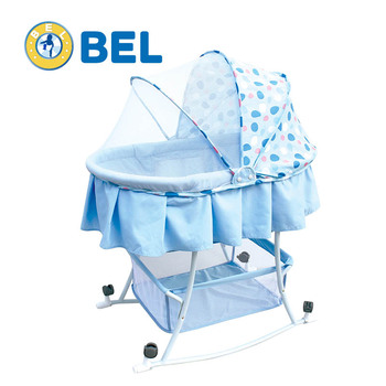 Foldable baby cot bed MC806-2
